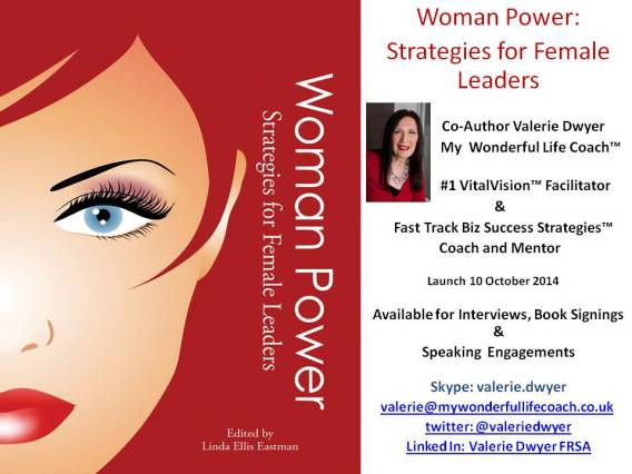 Woman Power Strategies for Female Leaders 2014 Book Flyer