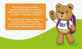 Buddy Bag Foundation Teddy mission logo